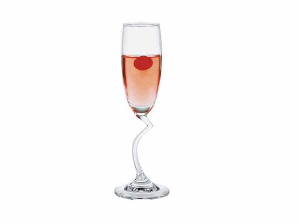 Ly Thủy Tinh Ocean Salsa Flute Champagne 165Ml